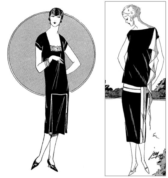 db5b752e86b La petite robe noire – Coco Chanel 1926 – courrier de paris
